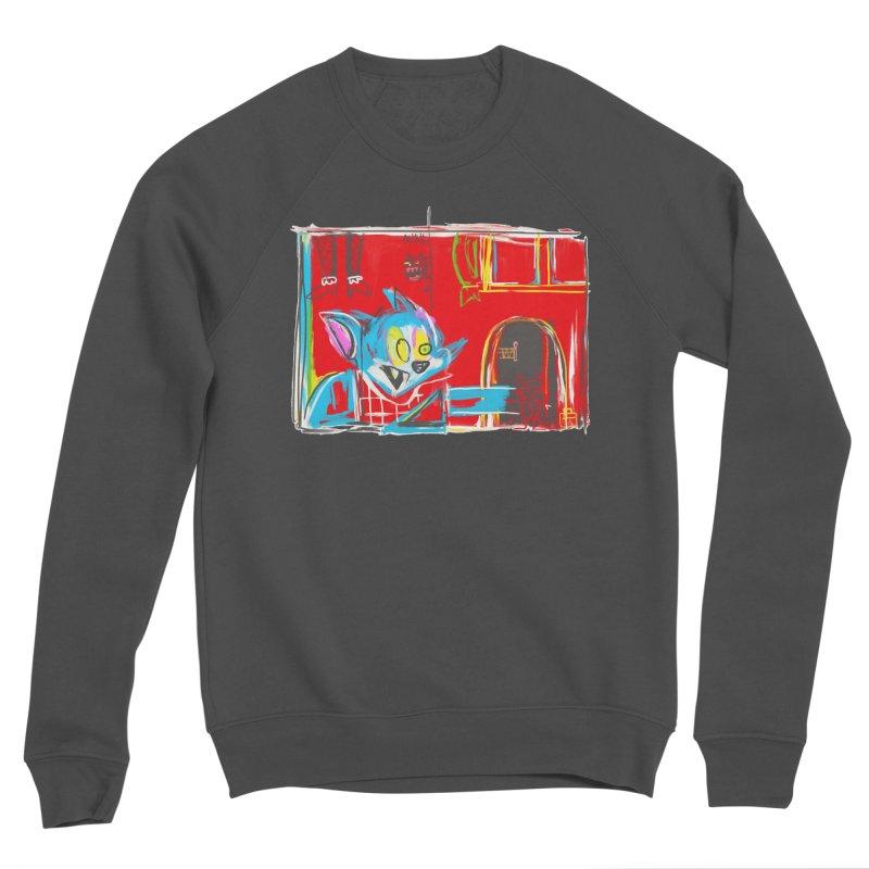 Cat & Mouse Women's Sweatshirt by Steve Dressler Illustration & Design