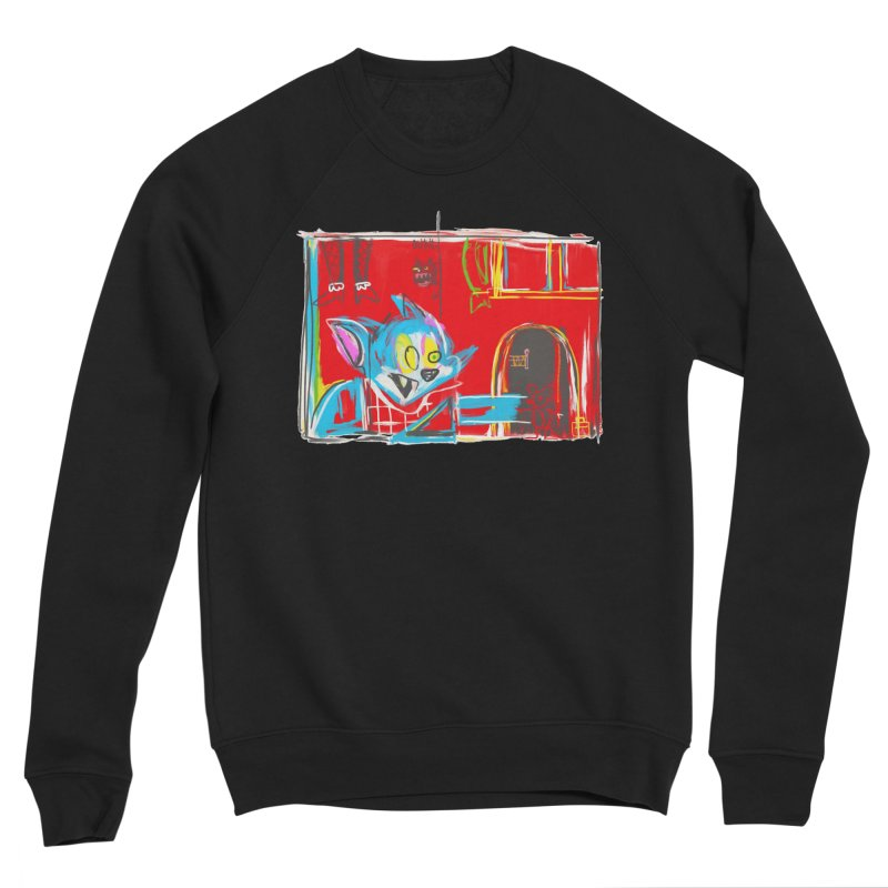 Cat & Mouse Women's Sweatshirt by Steve Dressler Illustration & Design