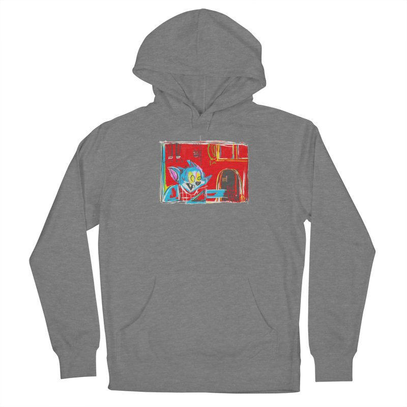 Cat & Mouse Women's Pullover Hoody by Steve Dressler Illustration & Design