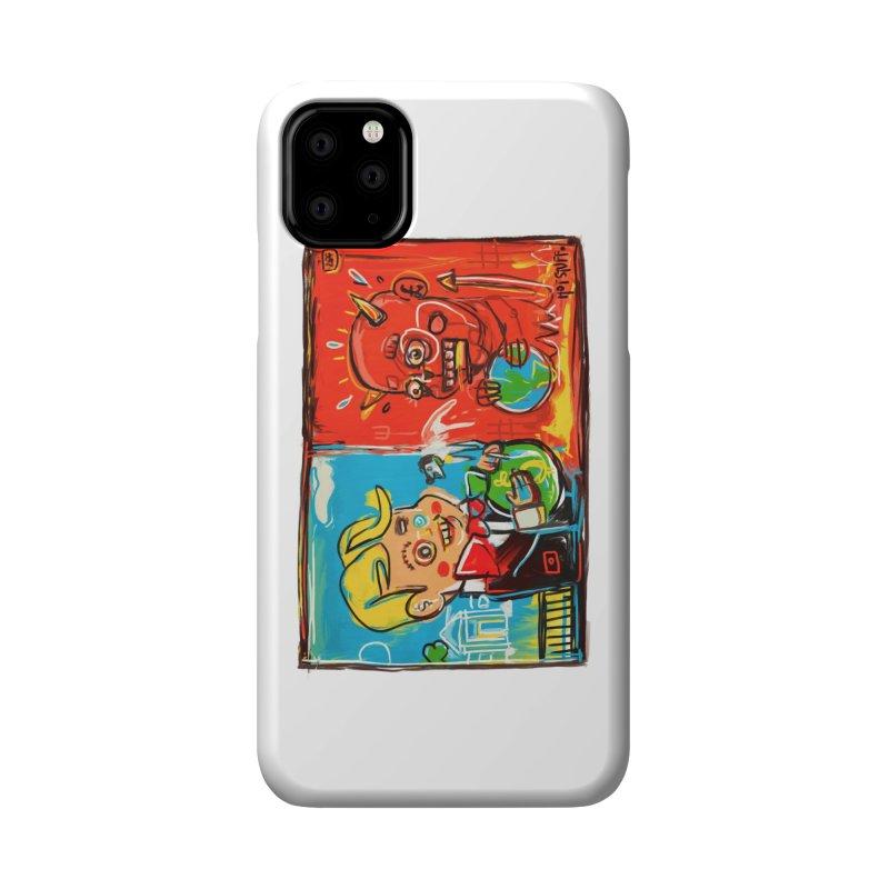 Rich & Evil Accessories Phone Case by Steve Dressler Illustration & Design