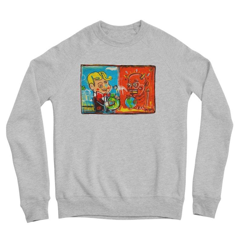 Rich & Evil Women's Sponge Fleece Sweatshirt by Steve Dressler Illustration & Design