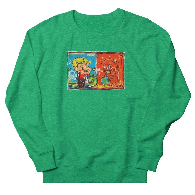 Rich & Evil Women's Sweatshirt by Steve Dressler Illustration & Design