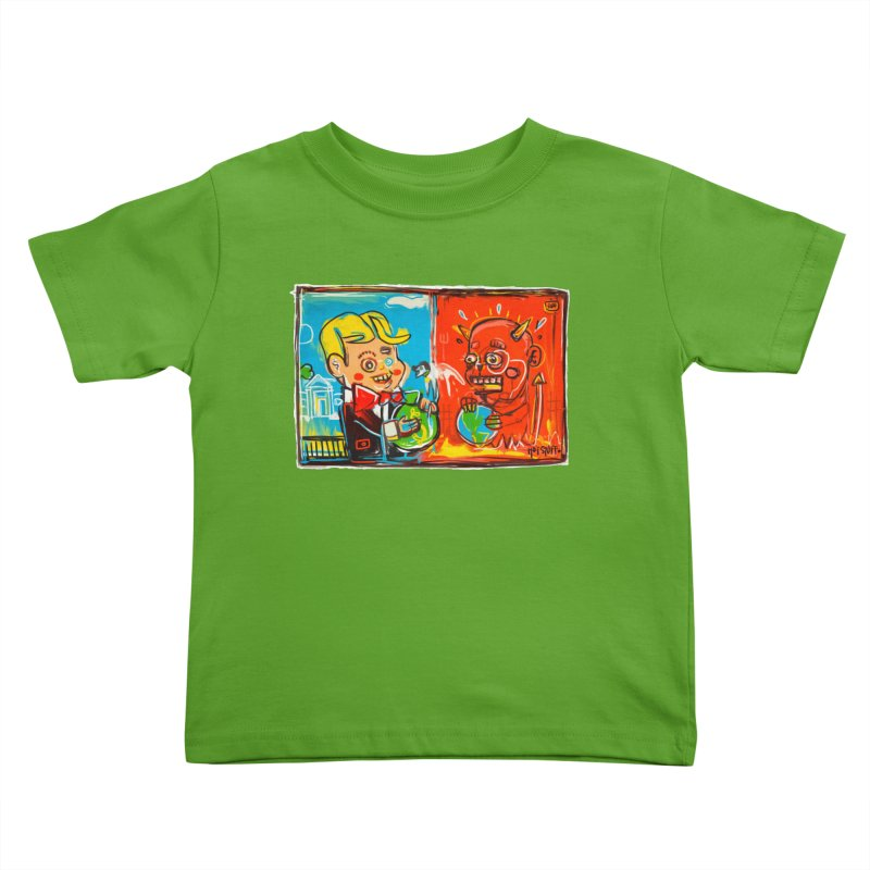 Rich & Evil Kids Toddler T-Shirt by Steve Dressler Illustration & Design