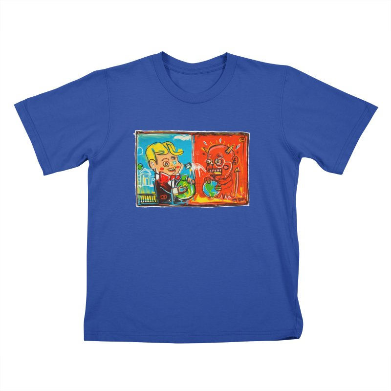 Rich & Evil Kids T-Shirt by Steve Dressler Illustration & Design