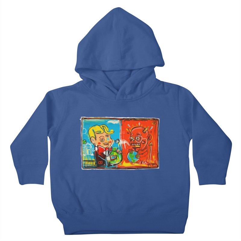 Rich & Evil Kids Toddler Pullover Hoody by Steve Dressler Illustration & Design