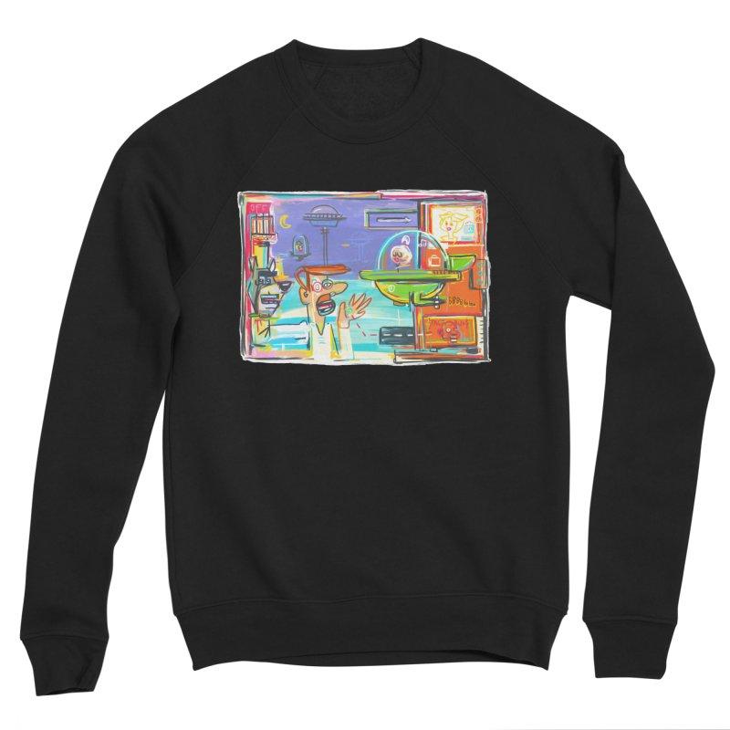 Space Family Women's Sponge Fleece Sweatshirt by Steve Dressler Illustration & Design