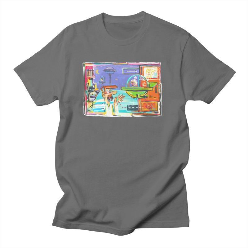 Space Family Men's T-Shirt by Steve Dressler Illustration & Design