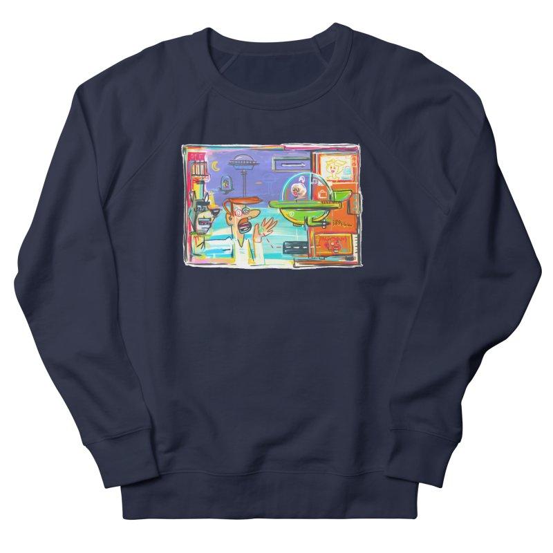 Space Family Women's French Terry Sweatshirt by Steve Dressler Illustration & Design