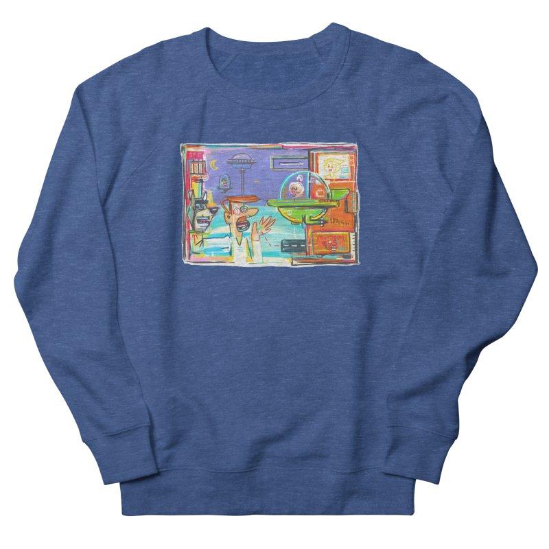 Space Family Men's Sweatshirt by Steve Dressler Illustration & Design