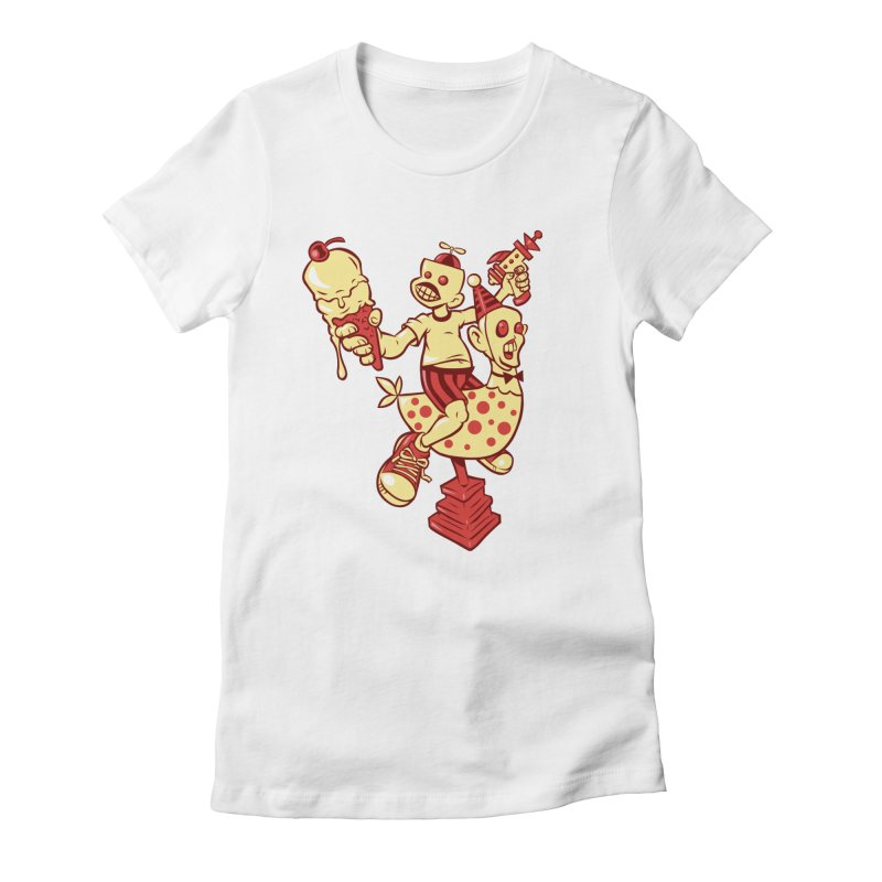 Childhood Women's T-Shirt by Acid Keg Industries