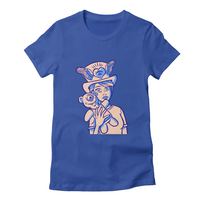 Occupy Friendship Women's Fitted T-Shirt by Acid Keg Industries