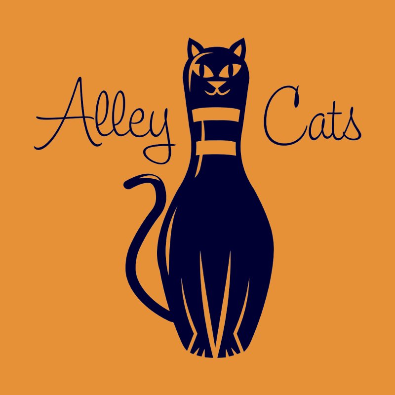 Alley Cats Men's T-Shirt by Acid Keg Industries