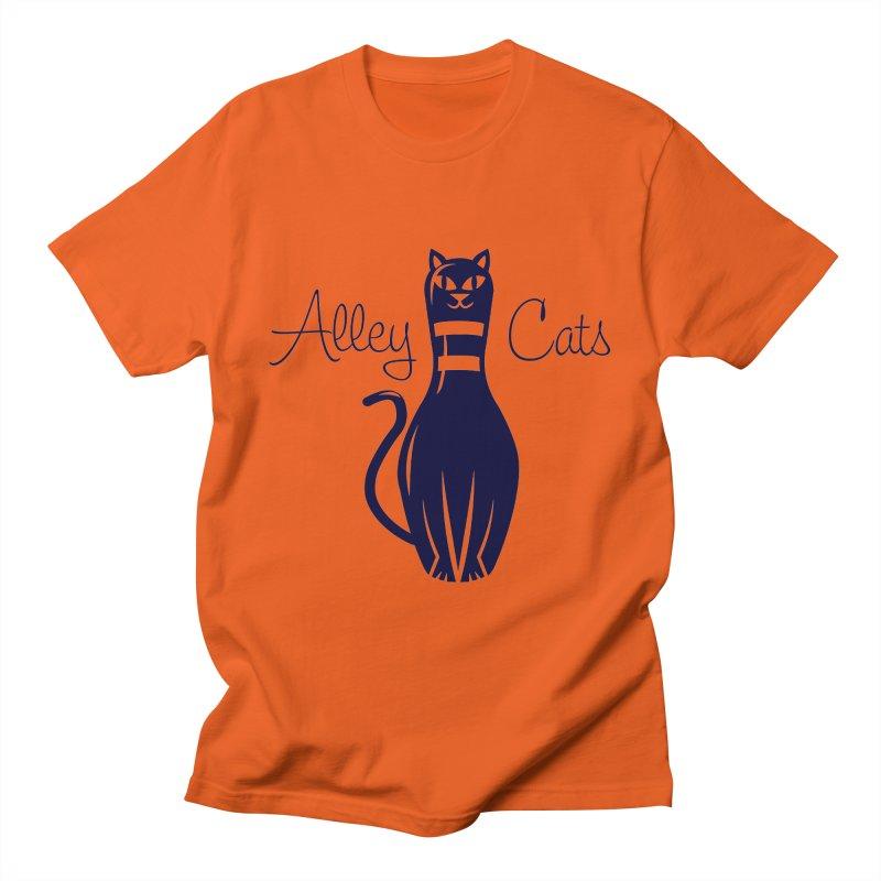 Alley Cats Men's T-Shirt by Acid Keg Industries
