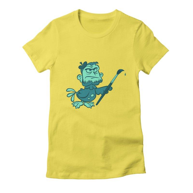 Art Women's T-Shirt by Acid Keg Industries