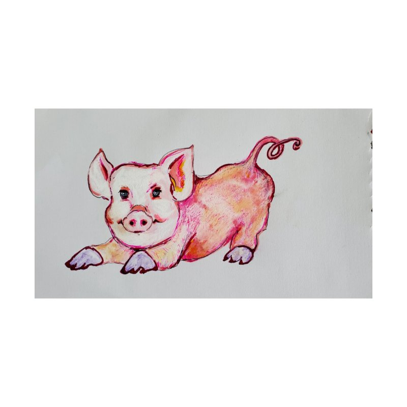 Gay Zoo- Pig Limited Edition 1 of 10 Print Home Fine Art Print by Steve Khan's Artist Shop