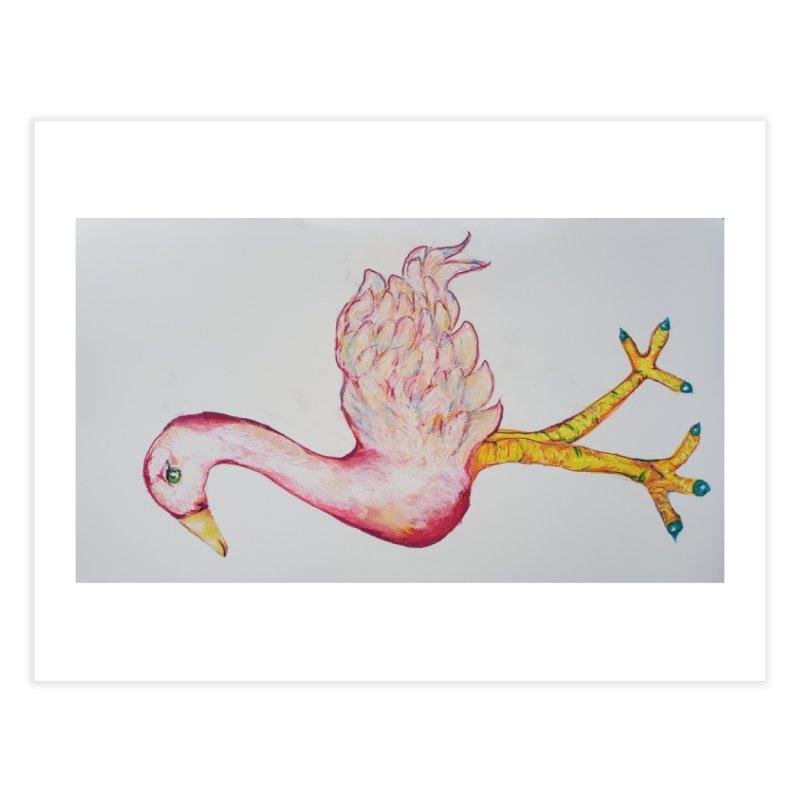 Gay Zoo- Flamingo Limited Edition 1 of 10 Print Home Fine Art Print by Steve Khan's Artist Shop