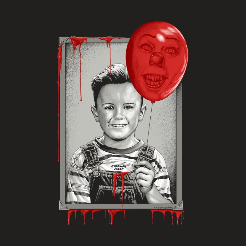 Pennywise Men's T-Shirt by The Art Of Steven Luros Holliday