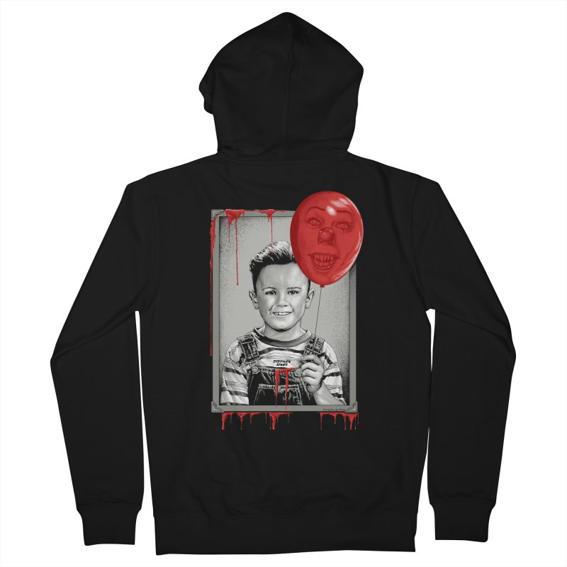 Pennywise Men's Zip-Up Hoody by The Art Of Steven Luros Holliday