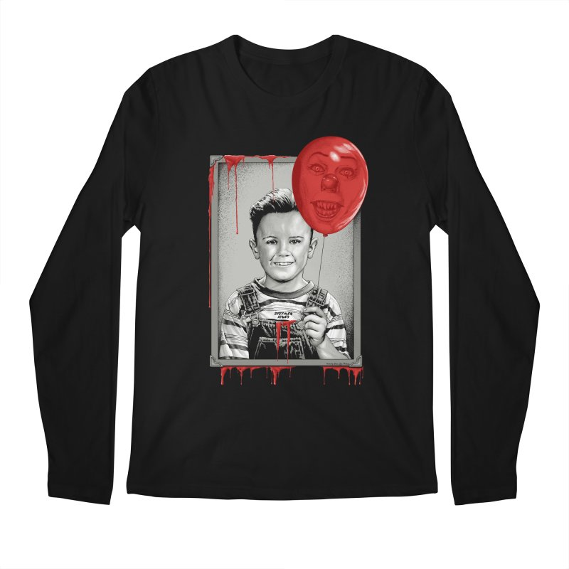 Pennywise Men's Regular Longsleeve T-Shirt by The Art Of Steven Luros Holliday