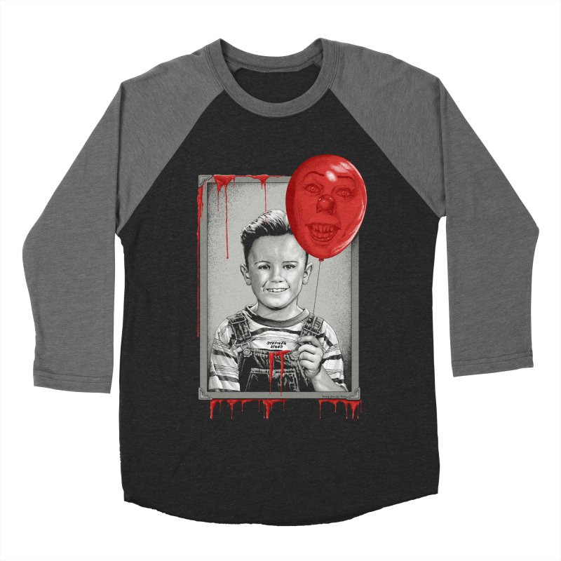 Pennywise Men's Baseball Triblend Longsleeve T-Shirt by The Art Of Steven Luros Holliday