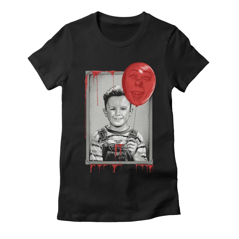 Pennywise Women's Fitted T-Shirt by The Art Of Steven Luros Holliday