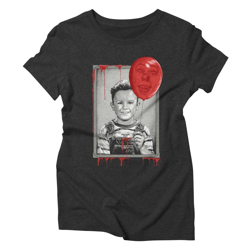 Pennywise Women's Triblend T-Shirt by The Art Of Steven Luros Holliday