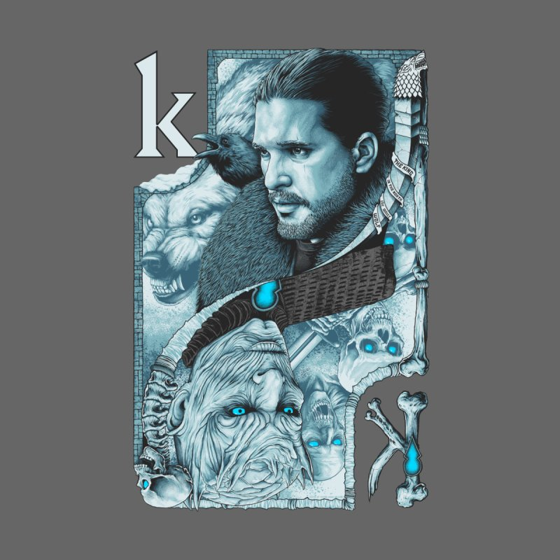 Kings In The North Men's Longsleeve T-Shirt by The Art Of Steven Luros Holliday