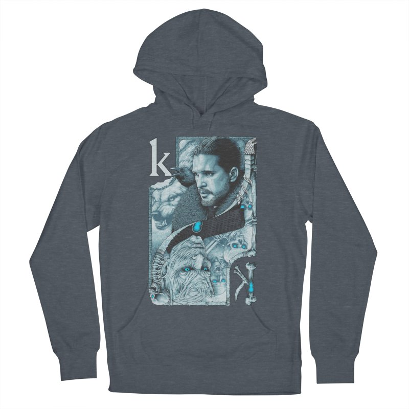 Kings In The North Men's Pullover Hoody by The Art Of Steven Luros Holliday