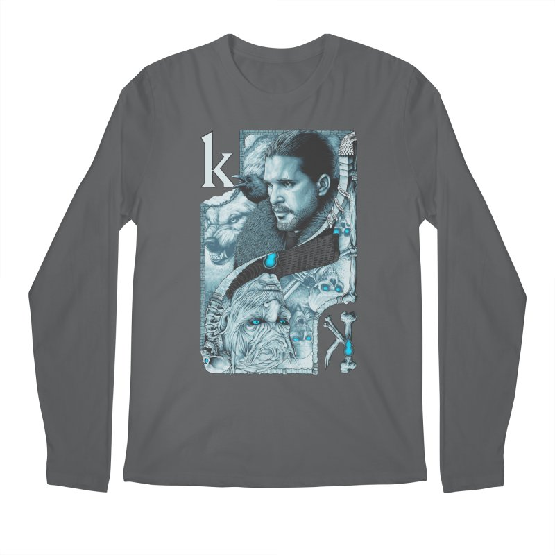 Kings In The North Men's Regular Longsleeve T-Shirt by The Art Of Steven Luros Holliday
