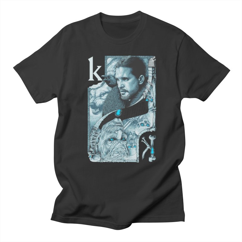 Kings In The North Men's Regular T-Shirt by The Art Of Steven Luros Holliday