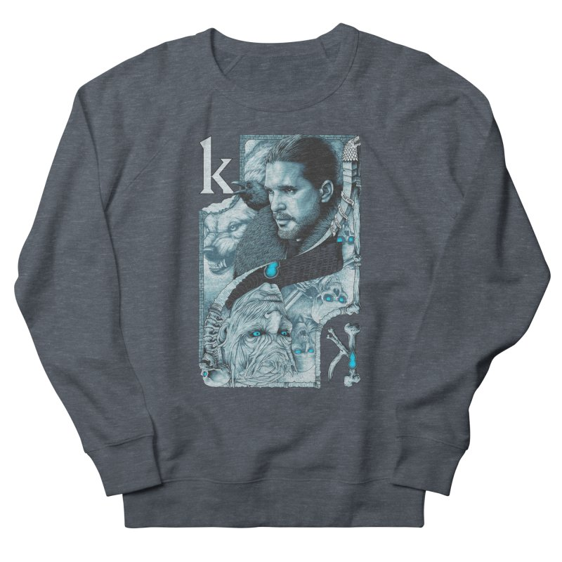 Kings In The North Women's French Terry Sweatshirt by The Art Of Steven Luros Holliday