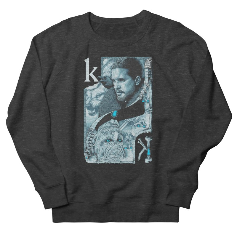 Kings In The North Men's Sweatshirt by The Art Of Steven Luros Holliday
