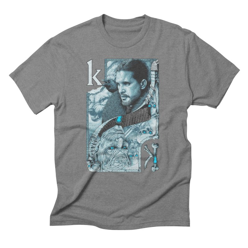 Kings In The North Men's Triblend T-Shirt by The Art Of Steven Luros Holliday