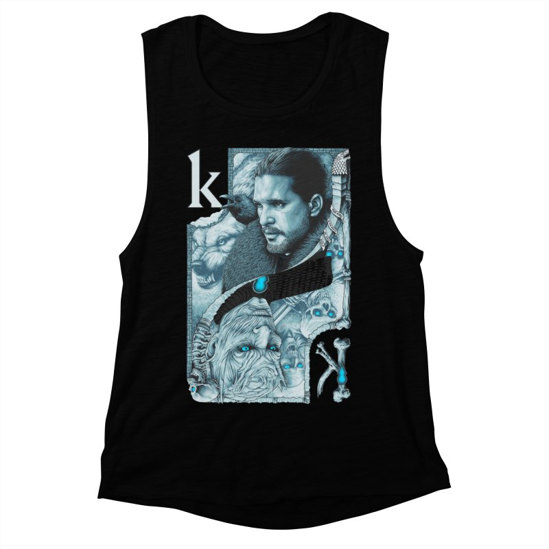 Kings In The North Women's Muscle Tank by The Art Of Steven Luros Holliday