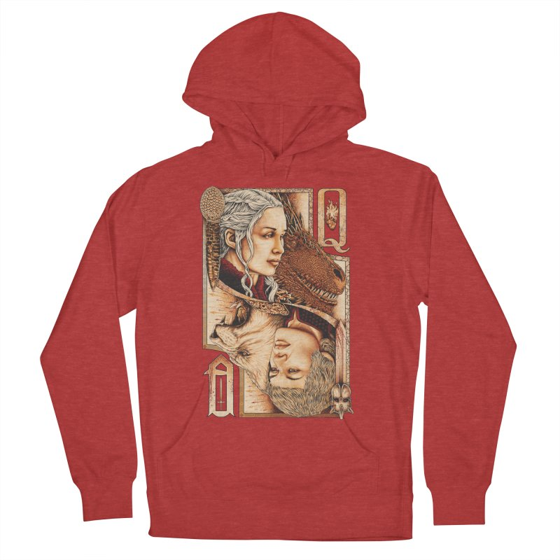 Queens In The South Women's French Terry Pullover Hoody by The Art Of Steven Luros Holliday