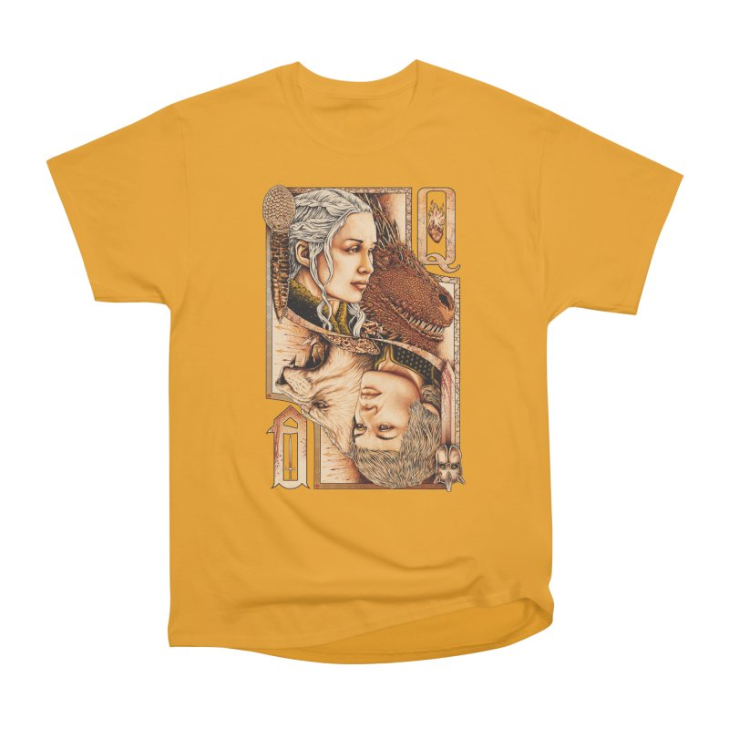 Queens In The South Women's Heavyweight Unisex T-Shirt by The Art Of Steven Luros Holliday