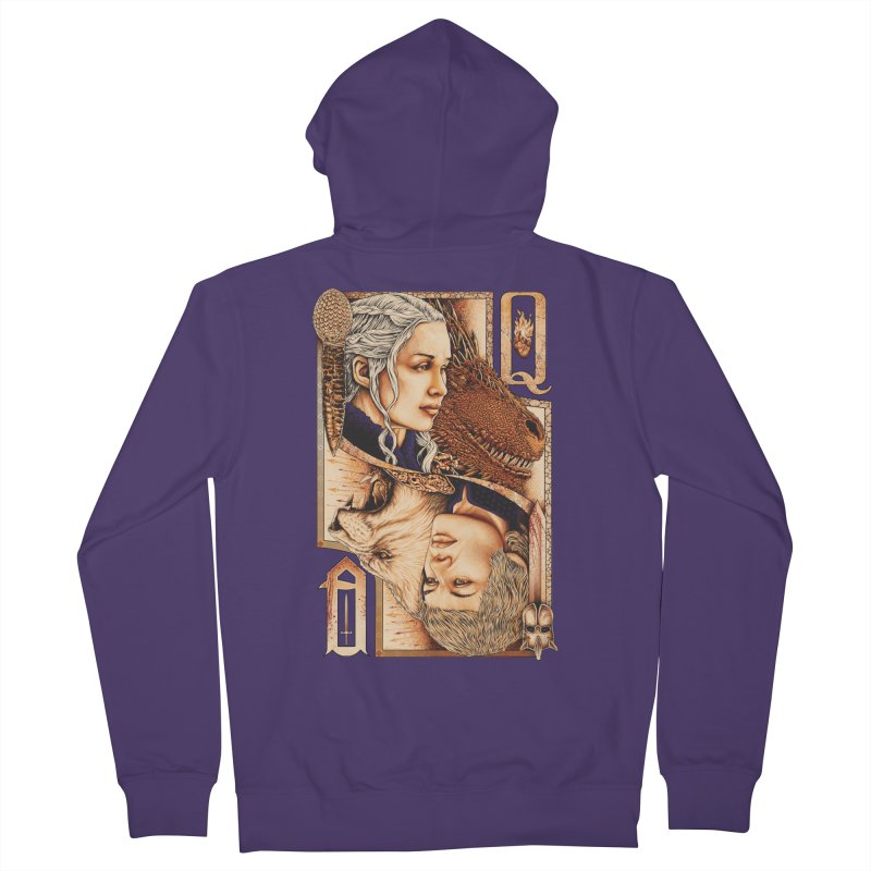 Queens In The South Women's Zip-Up Hoody by The Art Of Steven Luros Holliday