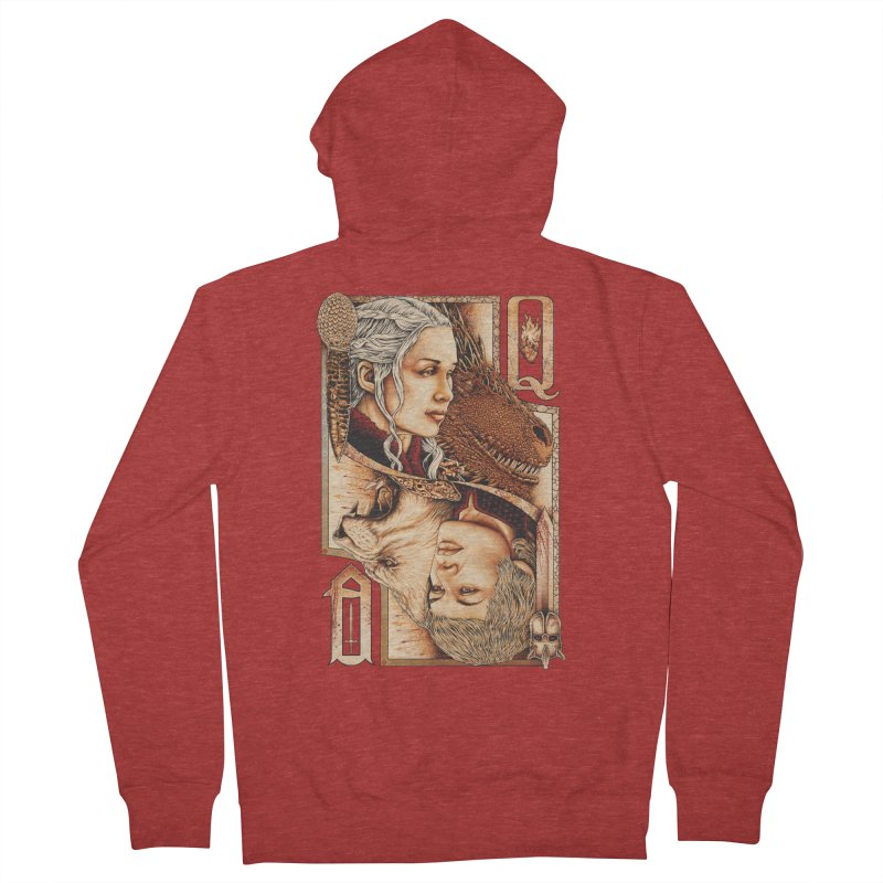 Queens In The South Men's Zip-Up Hoody by The Art Of Steven Luros Holliday