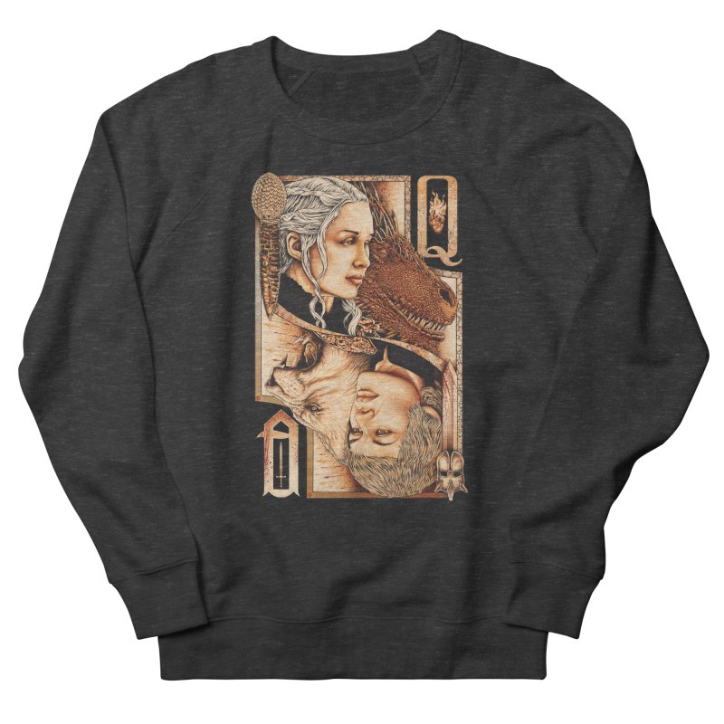 Queens In The South Women's French Terry Sweatshirt by The Art Of Steven Luros Holliday