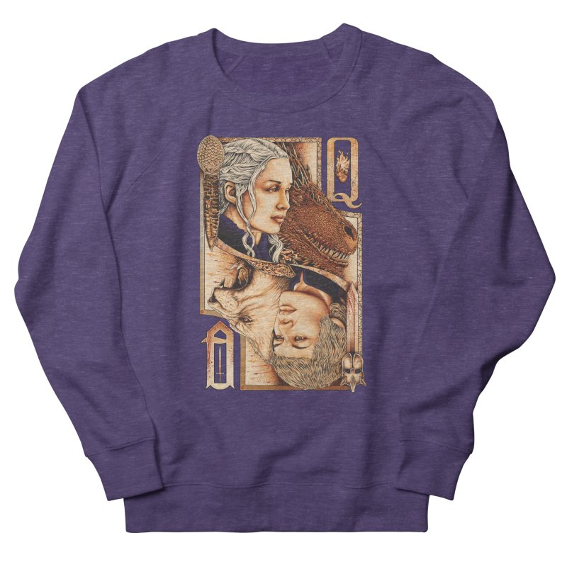Queens In The South Men's French Terry Sweatshirt by The Art Of Steven Luros Holliday