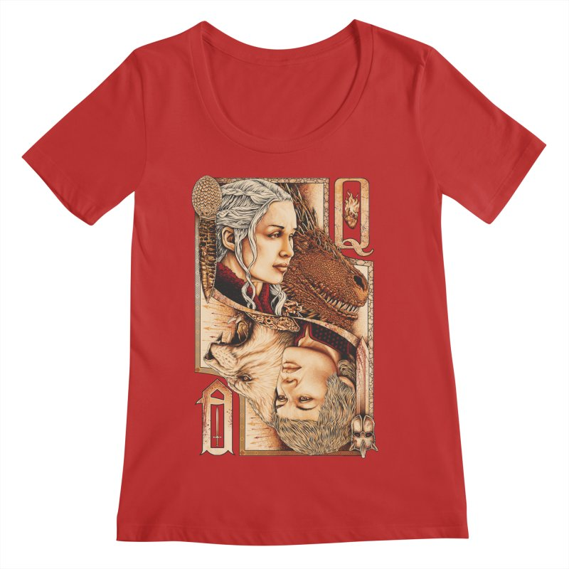 Queens In The South Women's Regular Scoop Neck by The Art Of Steven Luros Holliday