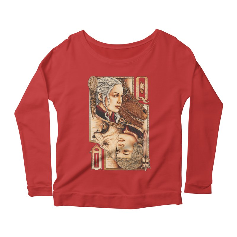 Queens In The South Women's Longsleeve Scoopneck  by The Art Of Steven Luros Holliday