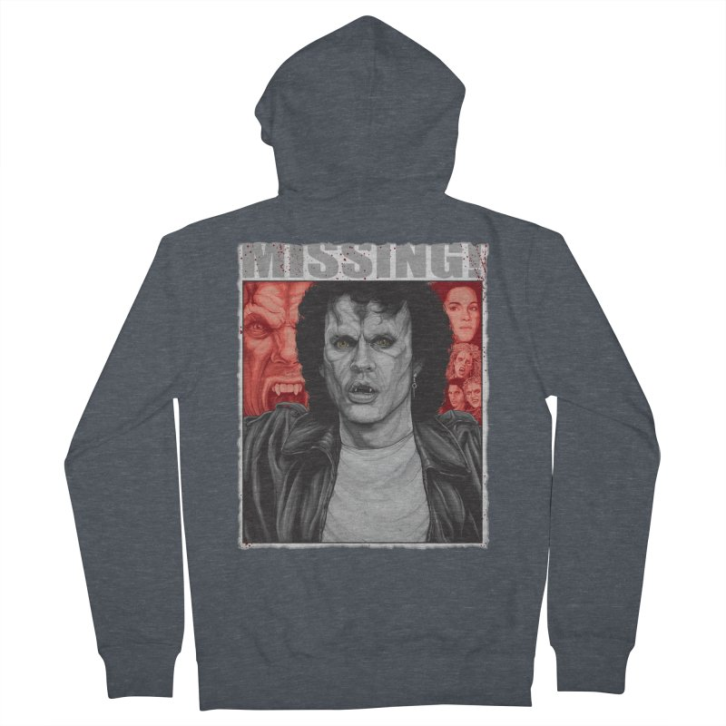 Blood Sucking Brady Bunch Women's Zip-Up Hoody by The Art Of Steven Luros Holliday