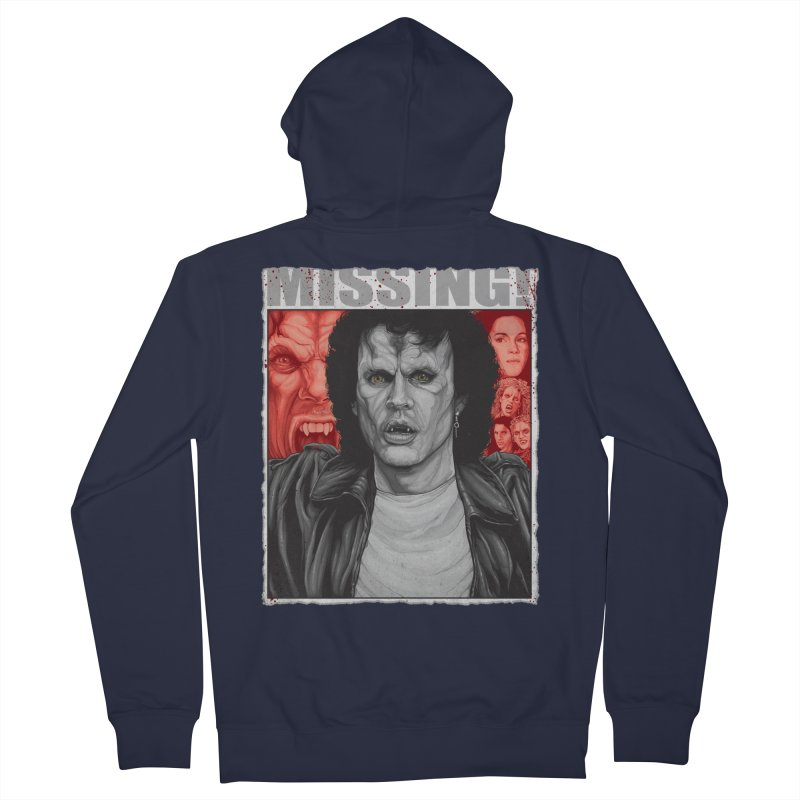 Blood Sucking Brady Bunch Men's Zip-Up Hoody by The Art Of Steven Luros Holliday