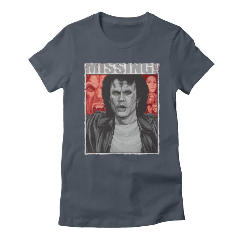Blood Sucking Brady Bunch Women's Fitted T-Shirt by The Art Of Steven Luros Holliday
