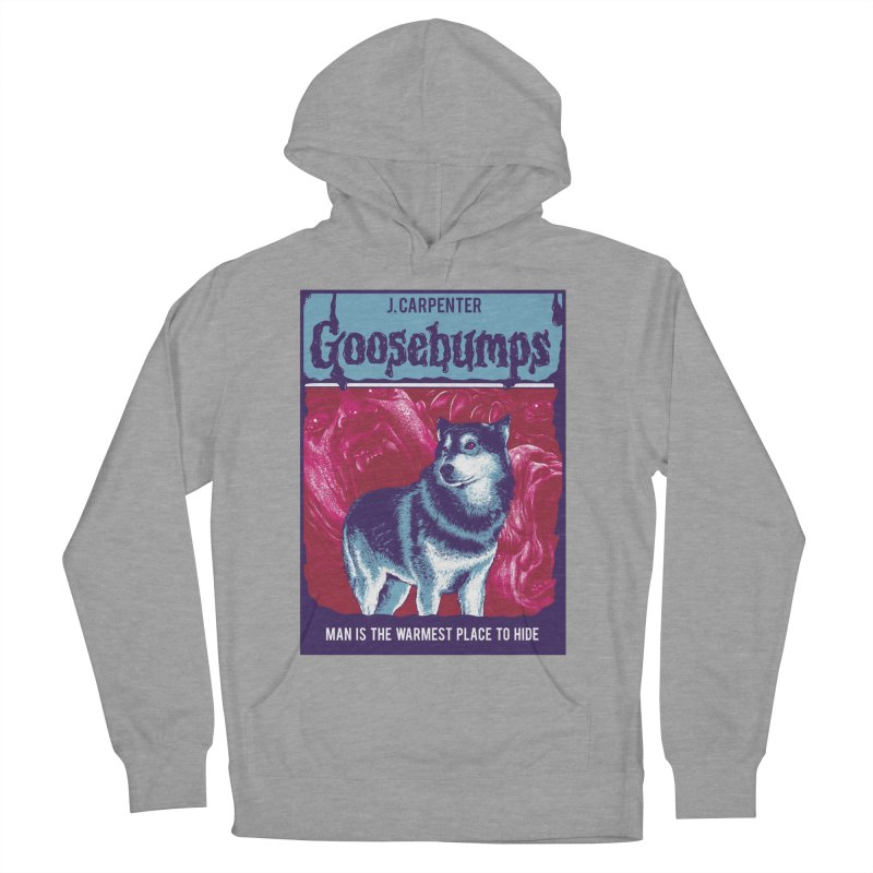 Man Is The Warmest Place To Hide Women's Pullover Hoody by The Art Of Steven Luros Holliday