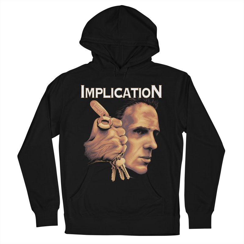 Implication Women's French Terry Pullover Hoody by The Art Of Steven Luros Holliday