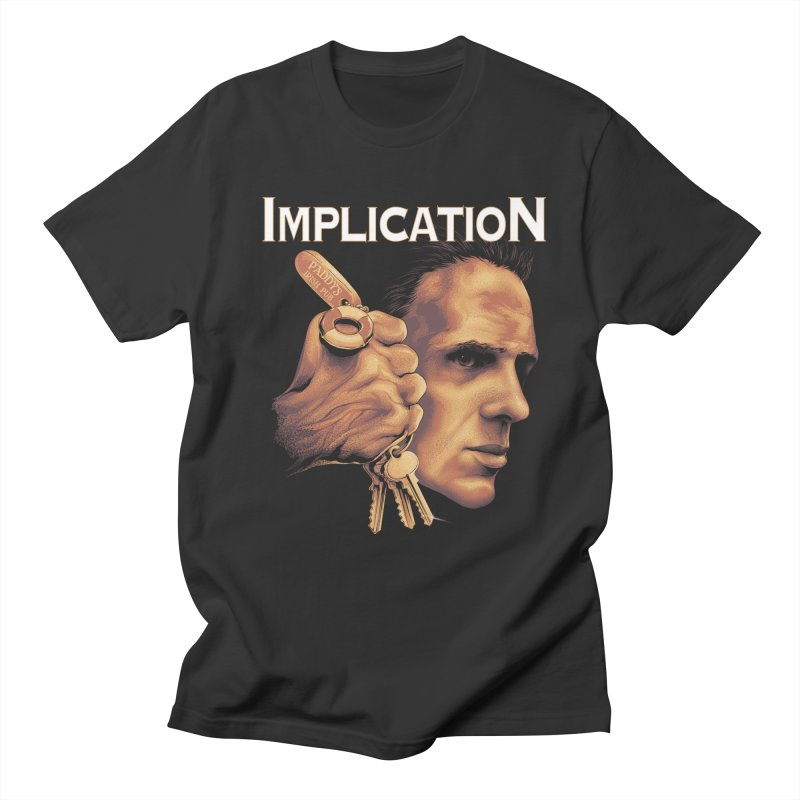 Implication Men's T-shirt by The Art Of Steven Luros Holliday