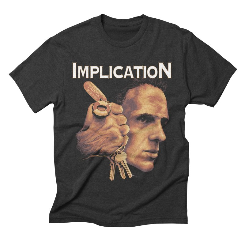 Implication Men's Triblend T-shirt by The Art Of Steven Luros Holliday