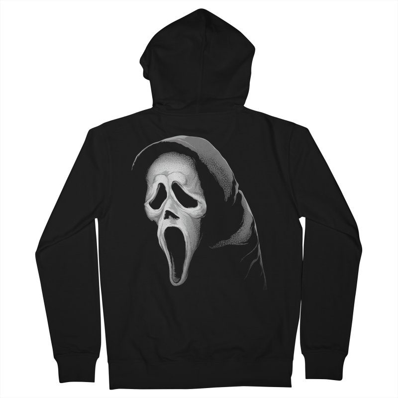 What's Your Favorite Scary Movie Men's Zip-Up Hoody by The Art Of Steven Luros Holliday